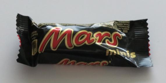 Батончик Марс содержит пальмовое масло