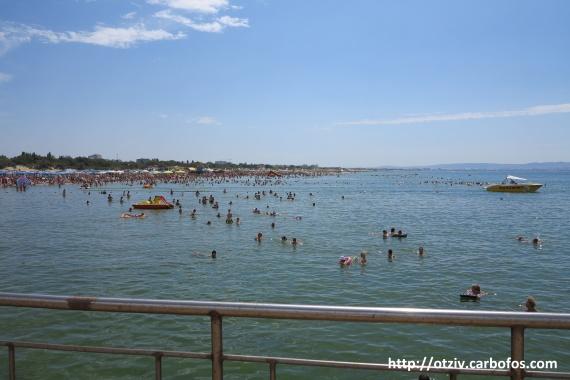 Пляж Витязево отзыв