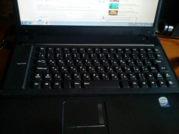 Силиконовая водонепроницаемая клавиатура с aliexpress