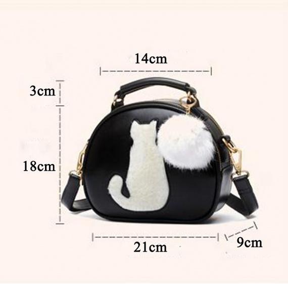 оригинальная сумка с кошкой