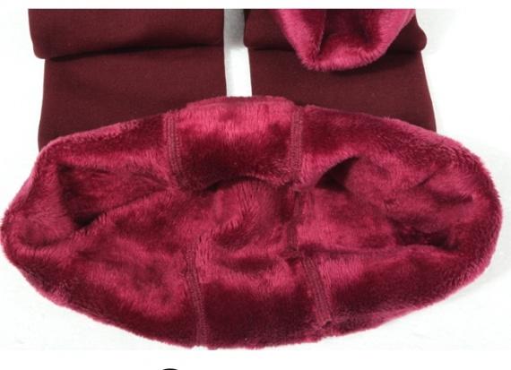 Теплые зимние легинсы с мехом aliexpress