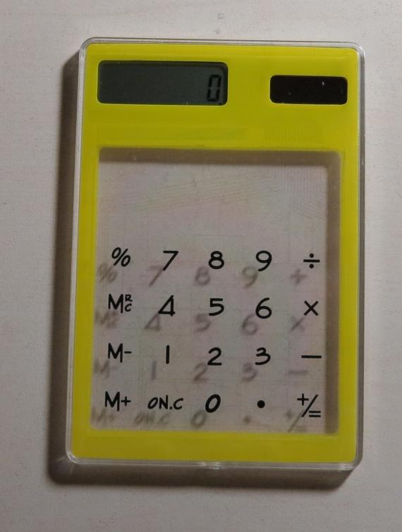 Новый прозрачный электронный калькулятор, aliexpress