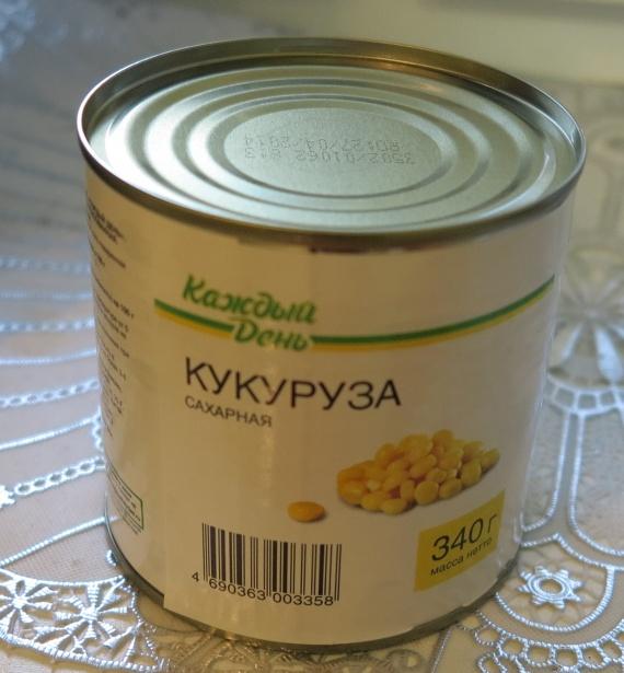 "Кукуруза сахарная ""Каждый день"" из магазина Атак"