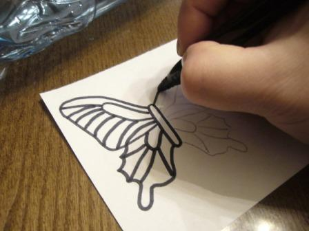 Бабочки из пластиковых бутылок пошагово