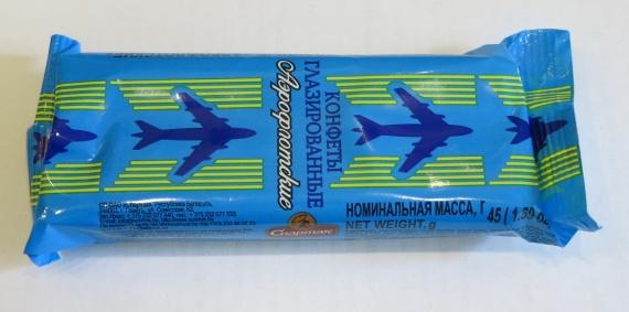 Конфеты глазированные Аэрофлотские Спартак содержат пальмовое масло