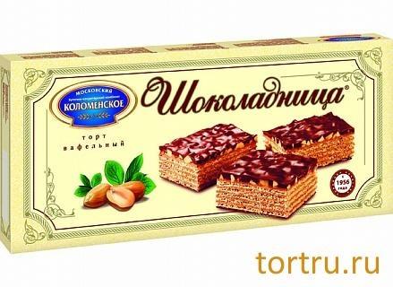 """Торт вафельный """"Шоколадница"""", Коломенское содержит пальмовое масло"""