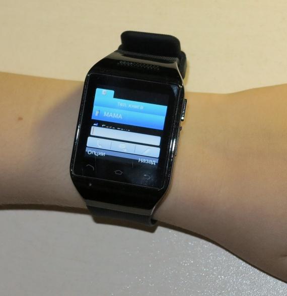Часы-телефон S18 aliexpress, обзор и отзыв